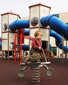 Free Playground Royalty Free Stock Photo - 13625585
