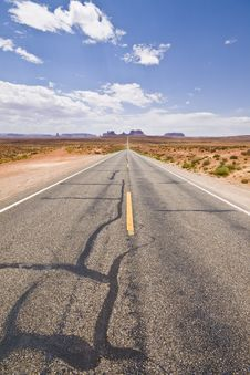 Infinite Road Royalty Free Stock Photography