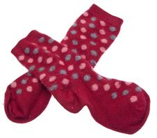 Free Pair Of Red Socks Stock Image - 13625961