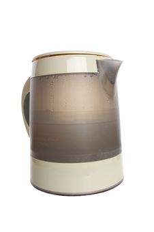 Free Electric Kettle On White Stock Photography - 13626192