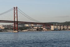 Free 25 De Abril Bridge Stock Photography - 13626272