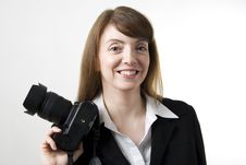Free Woman Photographer Stock Photos - 13626573