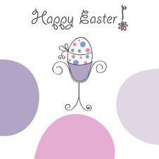 Free Happy Easter Card Stock Photos - 13626773