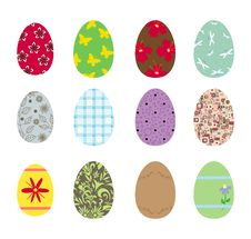 Free Easter Eggs Royalty Free Stock Photos - 13626778