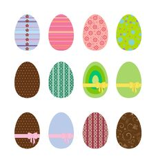 Free Easter Eggs Stock Photography - 13626782