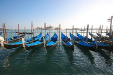 Free Gondolas In Venice Stock Images - 13627514