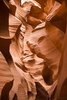Antelope Canyon In Page Royalty Free Stock Photography