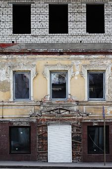 Free Some Windows At Construction Royalty Free Stock Photos - 13629928