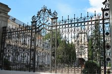 Free Iron, Gate, Wall, Fence Stock Photography - 136289342
