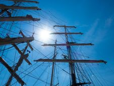 Free Sailing Ship, Sky, Tall Ship, Mast Stock Photography - 136290182
