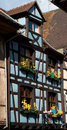 Free Blue Timber Frame House In Alsace Royalty Free Stock Photo - 13635955