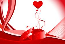 Free Beautiful Valentine S Day Illustration Royalty Free Stock Photos - 13630348