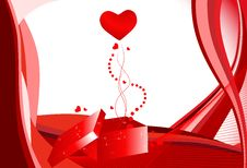 Free Beautiful Valentine S Day Illustration Royalty Free Stock Photography - 13630367