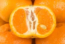 Free Background From Tangerine Stock Photography - 13630492