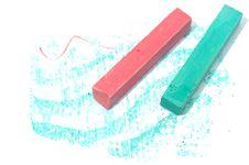 Free Crayon Chalk Royalty Free Stock Photo - 13631175