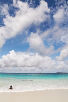 Free Seychelles Seascape. Stock Photos - 13631783