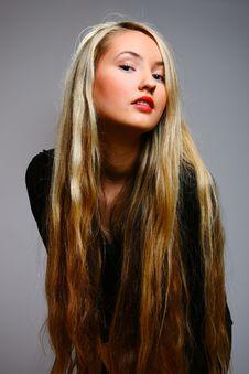 Free Beautiful Stylish Blonde Stock Photo - 13632330
