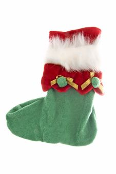 Free Christmas Sock Royalty Free Stock Photo - 13633735
