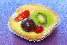 Free Fruit Tart Stock Photography - 13633862