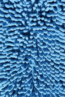 The Surface Of The Blue Textiles Stock Images