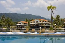 Free Tropical Hotel Stock Photo - 13635040