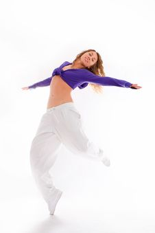 Free Dancing Woman Stock Photography - 13635632