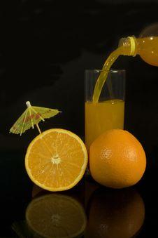 Free Orange Juice Royalty Free Stock Image - 13635736