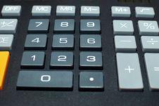 Free Calculator Buttons Stock Photos - 13635753