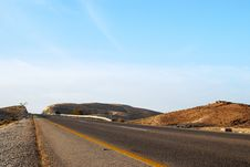 Free Desert Road Stock Photo - 13635780