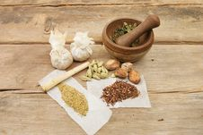 Free Herbs And Spices Stock Photos - 13635903