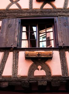 Free Pink / Orange Timber Frame House Stock Photo - 13635960