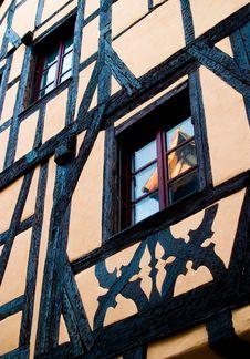 Free Light Orange/Pink Timber Frame Stock Image - 13635971