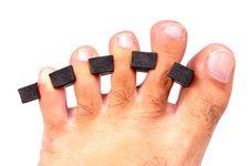 Free Finger Separator Stock Image - 13636341