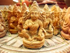Free Terracotta Statues Royalty Free Stock Photos - 13636488
