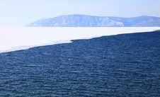 Free Frozen Lake Baikal Royalty Free Stock Photo - 13636565