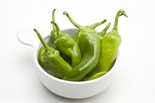 Free Green Chili Pepper Royalty Free Stock Photo - 13636695