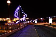 Free Night Lights Stock Photography - 13636832