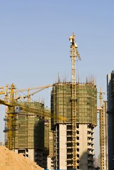 Free Construction Site Royalty Free Stock Photos - 13637448