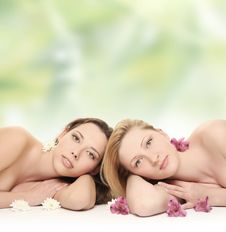 Free Spa Green Royalty Free Stock Images - 13637839