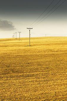 Free Power Poles Royalty Free Stock Photos - 13637848