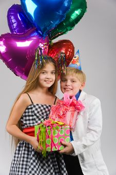 Free Birthday Gifts Stock Photos - 13637853
