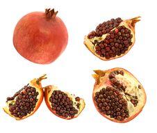 Free Pomegranates Royalty Free Stock Image - 13637866