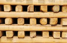 Free Square Wood Pile Royalty Free Stock Photos - 13637948