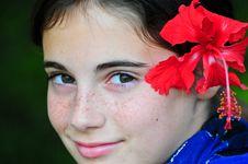 Free Tropical Girl Stock Photos - 13638043