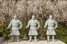 Free Chinese Terra Cotta Warriors Stock Images - 13638094