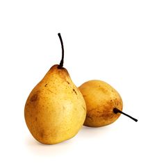 Free Ripe Pears Isolated Stock Image - 13638171