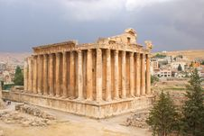 Free Baalbeck Temple Stock Images - 13638244