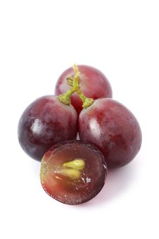Free Red Grapes Royalty Free Stock Image - 13638446
