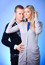 Free Guy And Girl Hugging Royalty Free Stock Image - 13649616
