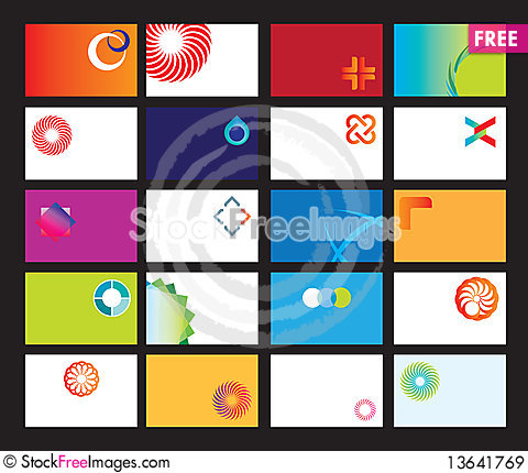Blank Business Card Templates Free Stock Images Photos